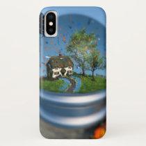 Butterfly Globe iPhone Case