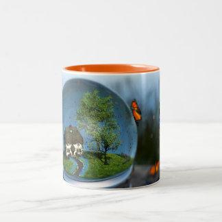 Butterfly Globe Mug