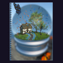 Butterfly Globe Notebook