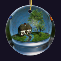 Butterfly Globe Ornament
