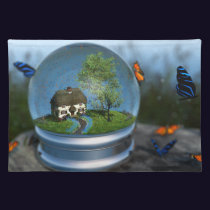 Butterfly Globe Placemat