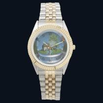 Butterfly Globe Watch