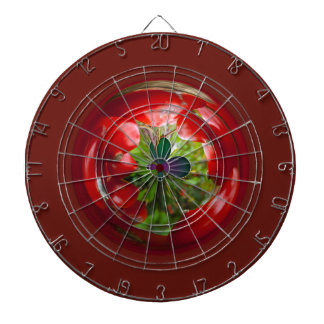 Butterfly Globe with red berries. Dart Boards