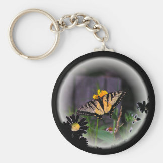 Butterfly Globed - Customized Key Chain