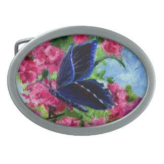 Butterfly Glory aceo Belt Buckle