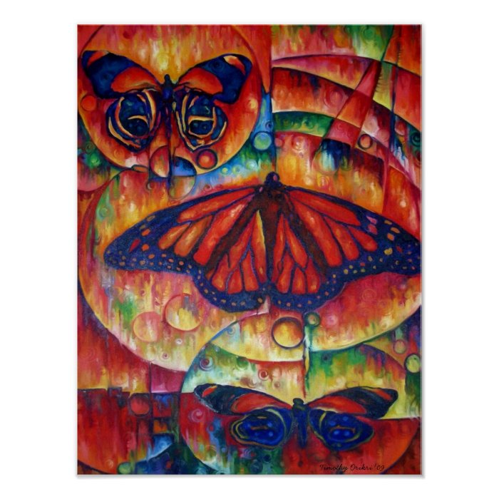 Butterfly Glory - Canvas Print
