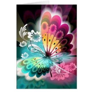 Butterfly Glow Card
