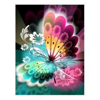 Butterfly Glow Postcard