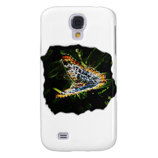 Butterfly Glowing Edges Cutout Galaxy S4 Cover