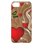 Butterfly & Gold iPhone 5C Covers