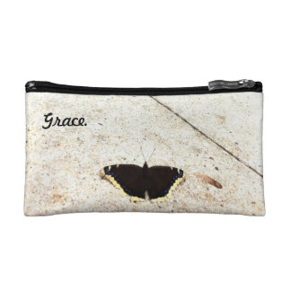 Butterfly Grace Cosmetic Bag