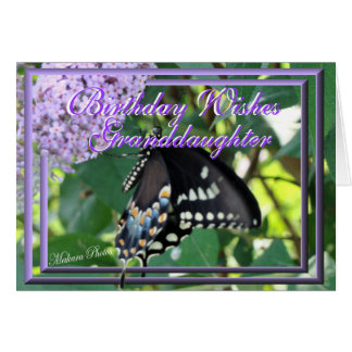 Butterfly Granddaugher card-customize
