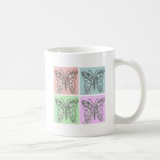 Butterfly Graphic Art Coffee Mug
