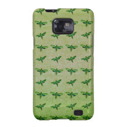 Butterfly green+blue samsung galaxy s2 cover