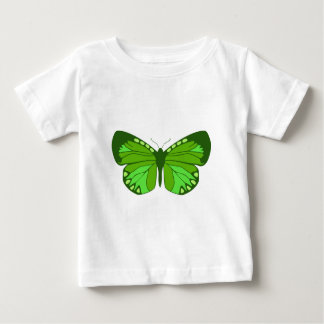 Butterfly Greens Baby T-Shirt