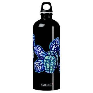 Butterfly Grenade, (colors) SIGG Traveler 1.0L Water Bottle