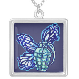 Butterfly Grenade, Fashion Necklace