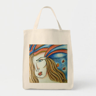 Butterfly Grocery Bag