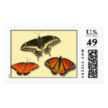 Butterfly Group Postage Stamp