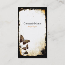 Butterfly Grunge Business Card