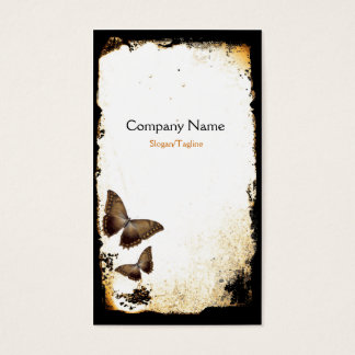 Butterfly Grunge Business Card