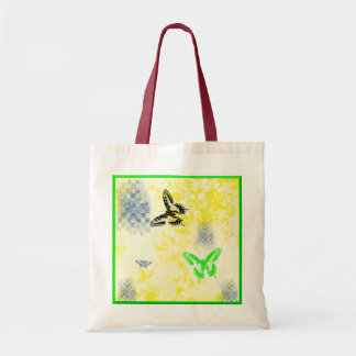 Butterfly Grunge Tote