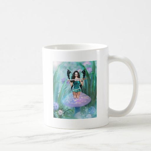 Butterfly Guardian Classic White Coffee Mug