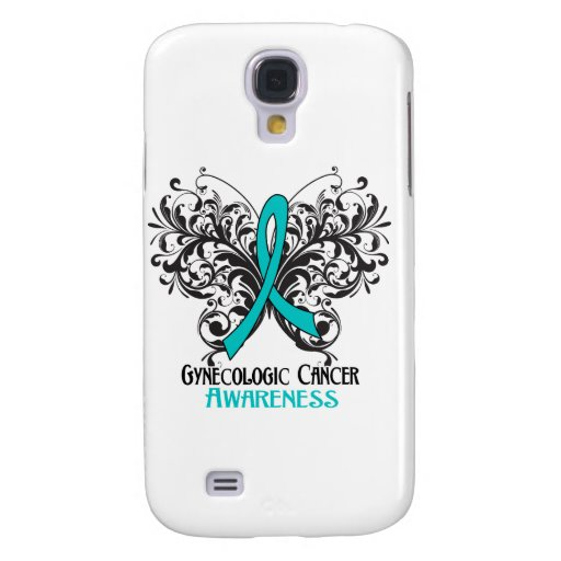 Butterfly Gynecologic Cancer Awareness Galaxy S4 Cover