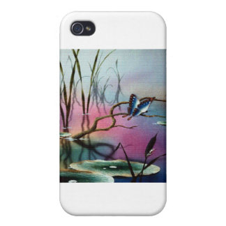 Butterfly Habitat Cover For iPhone 4