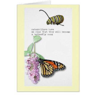 Butterfly Haiku Card