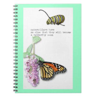 Butterfly Haiku notebook