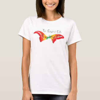 Butterfly Handwriting T-Shirt