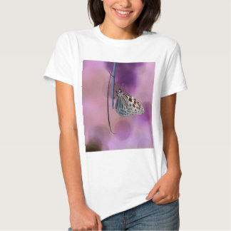 Butterfly Hanging From A Twig T Shirt