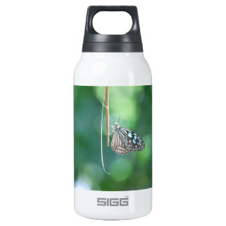 Butterfly Hanging From A Twig Thermos Water Bottle