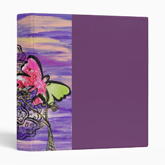 Butterfly Hats Binder