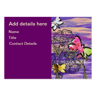 Butterfly Hats Business Cards