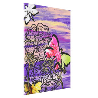 Butterfly Hats Gallery Wrap Canvas