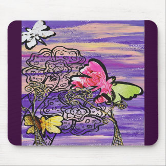 Butterfly Hats Mousepad