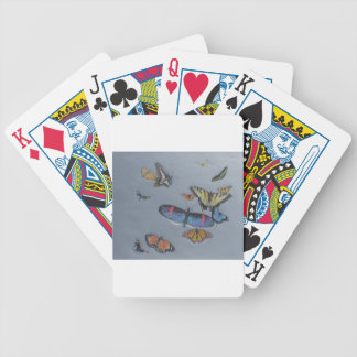 Butterfly Haven Bicycle Playing Cards