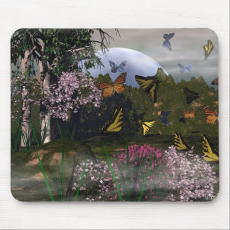 Butterfly Haven Mouse Pad