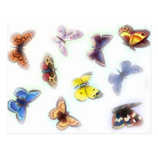 Butterfly Haze Postcards