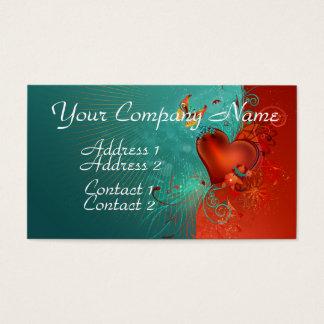 Butterfly Heart Business Card