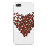 Butterfly heart case for iPhone 5
