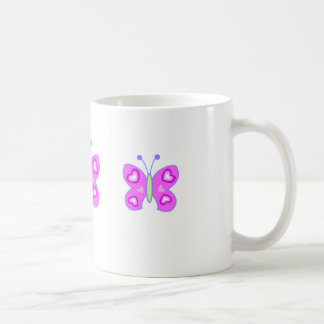 butterfly heart coffee mug