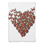 Butterfly heart cover for the iPad mini
