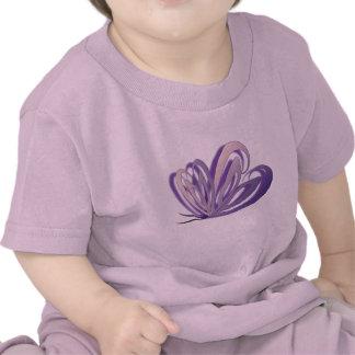 Butterfly Heart Design Baby T-Shirt
