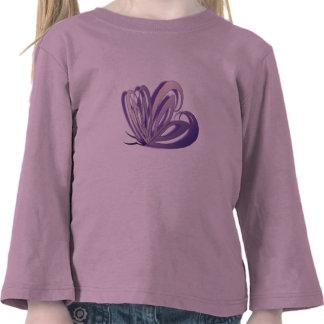 Butterfly Heart Design Toddler T-Shirt