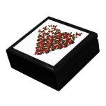 Butterfly heart gift box