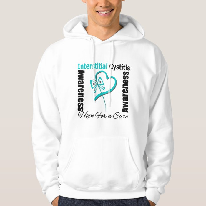 Butterfly Heart - Interstitial Cystitis Hoodie