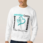 Butterfly Heart - Interstitial Cystitis Pull Over Sweatshirt